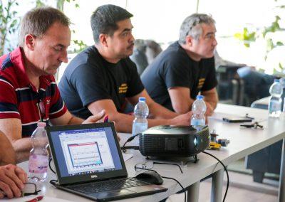 Ízelítő a Medic-Car Autószervíz munkatársai által tartott képzés helyszínéről és az előadásról.