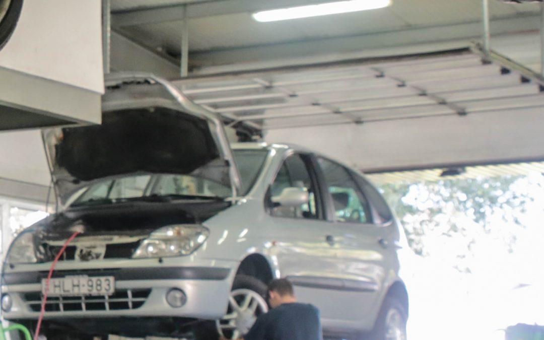 Házi töltőállomás a gázmeghajtású gépkocsik számára